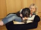 Sarah mit Daisy
